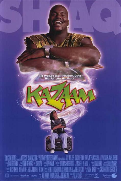 Kazaam Movie Posters From Movie Poster Shop
