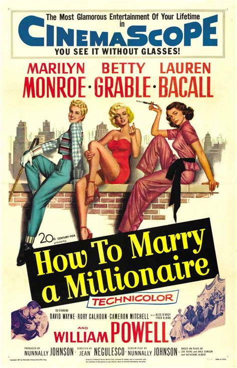How to Marry a Millionaire Movie Posters From Movie Poster ...