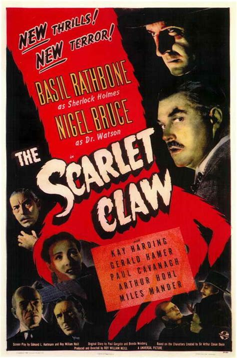 The Scarlet Claw Movie Posters From Movie Poster Shop