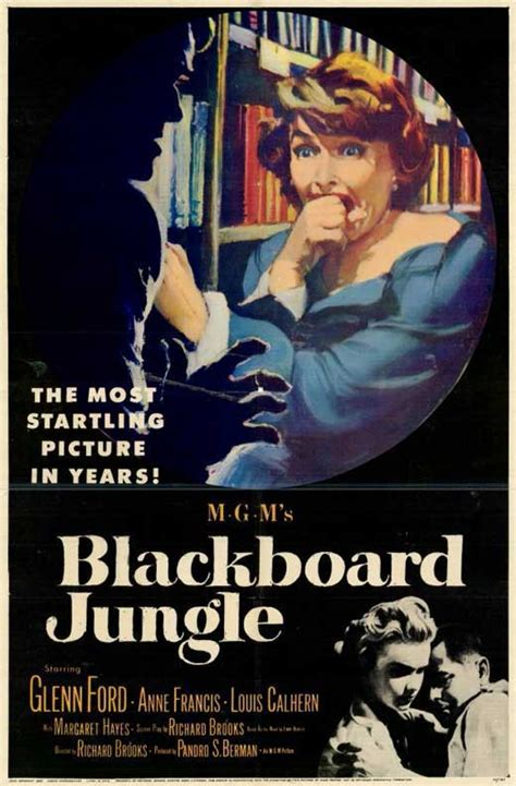Blackboard Jungle Movie Posters From Movie Poster Shop