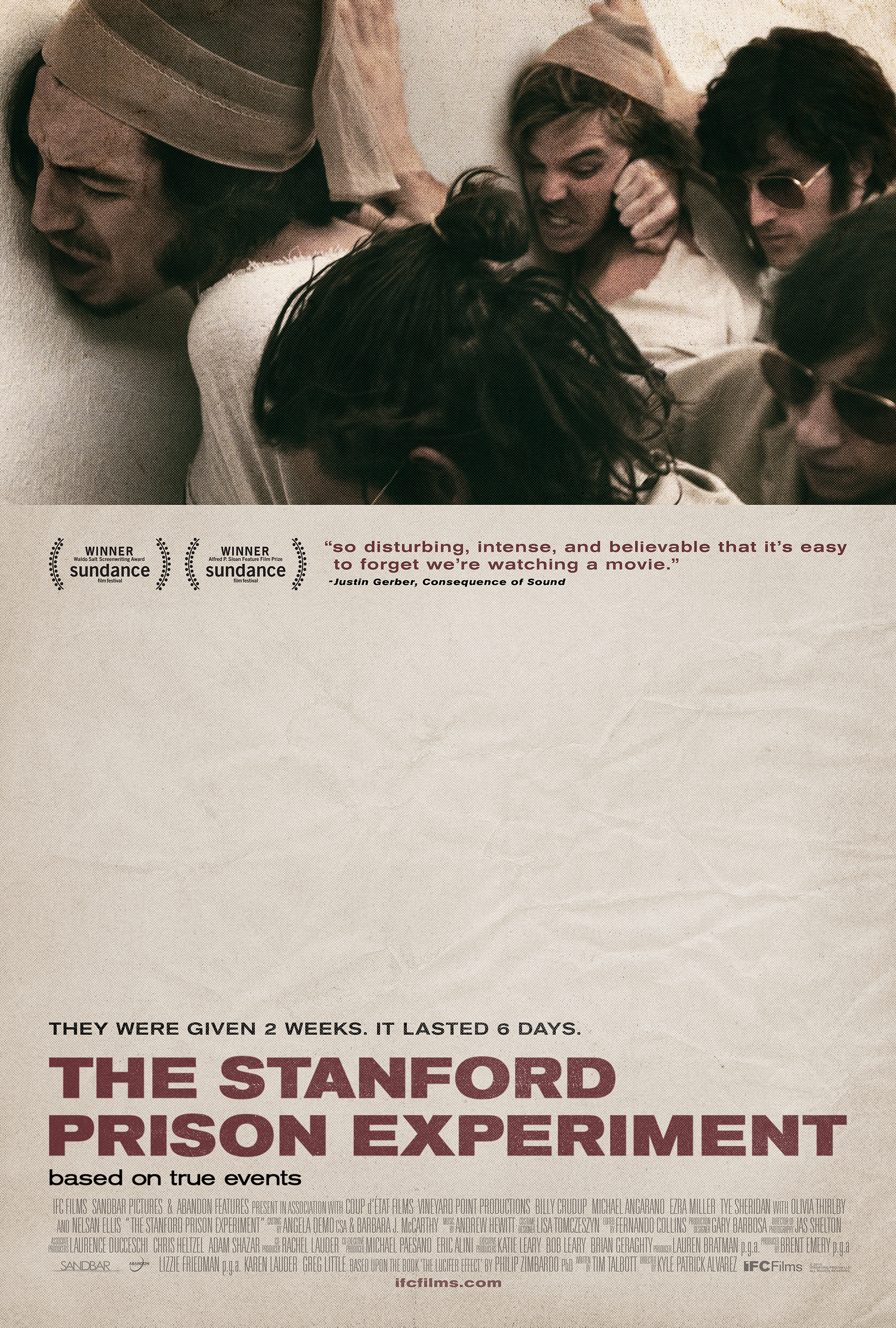 The Stanford Prison Experiment [2015]