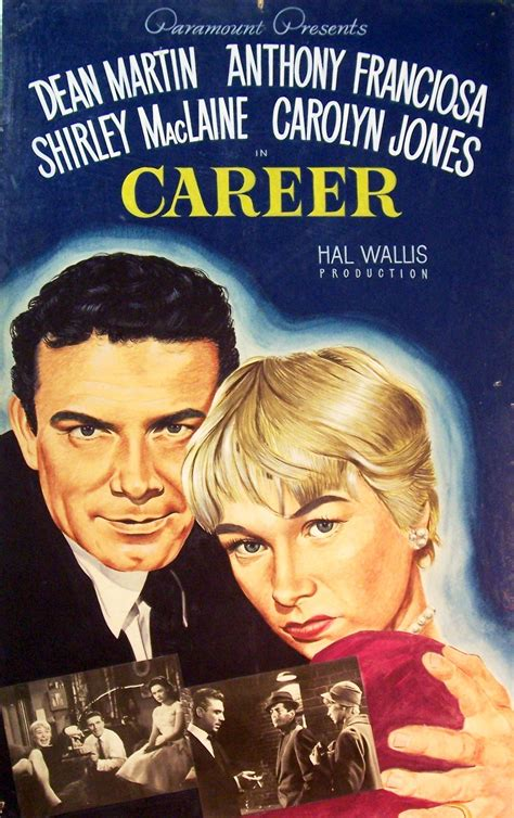 "Charitybuzz: ""Career"", 1959 Vintage Hand-Painted Film ..."