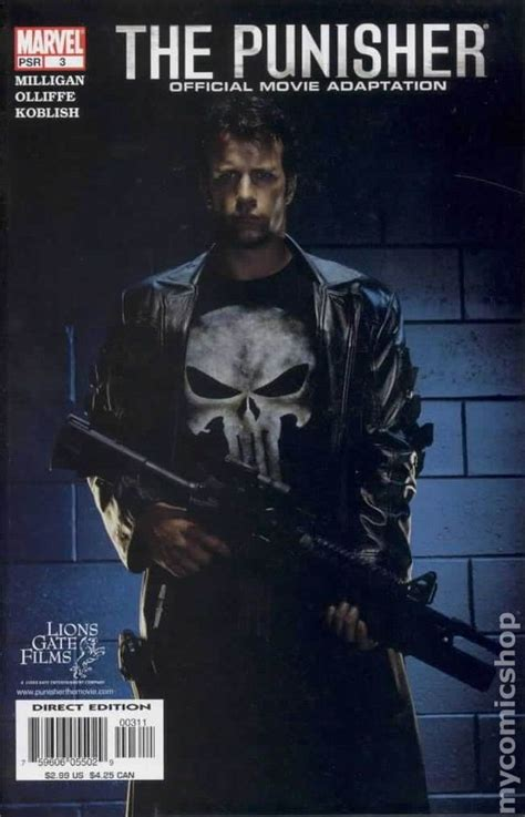 Punisher Official Movie Adaptation (2004) comic books