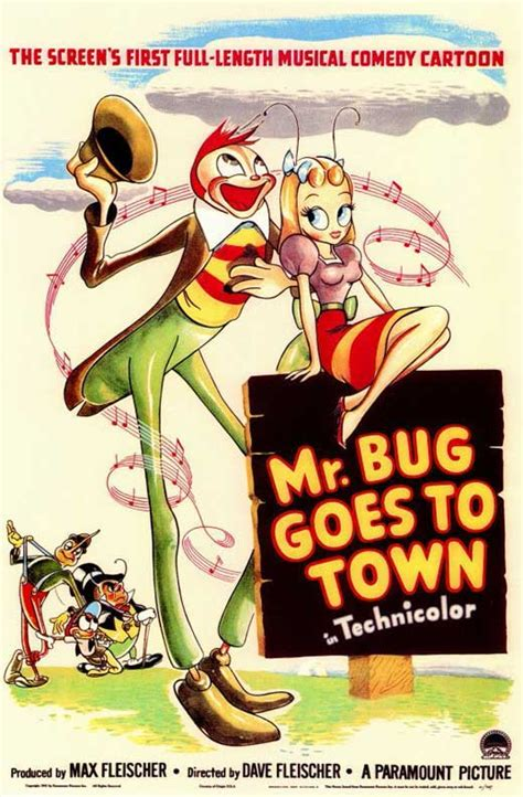 Mr. Bug Goes to Town Movie Posters From Movie Poster Shop