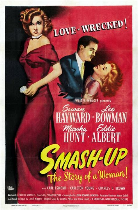 Smash-Up: The Story of a Woman Movie Poster (#1 of 2 ...