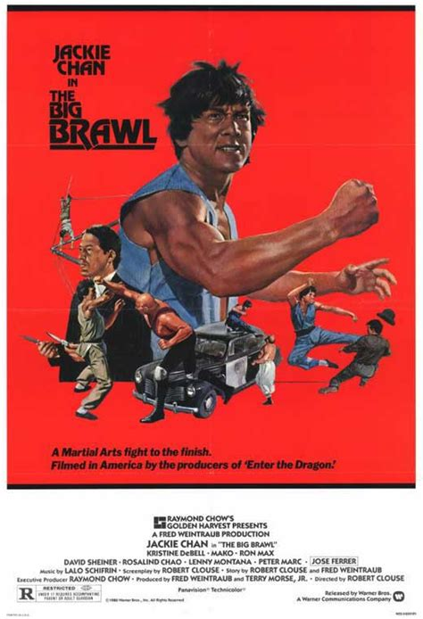 The Big Brawl Movie Posters From Movie Poster Shop