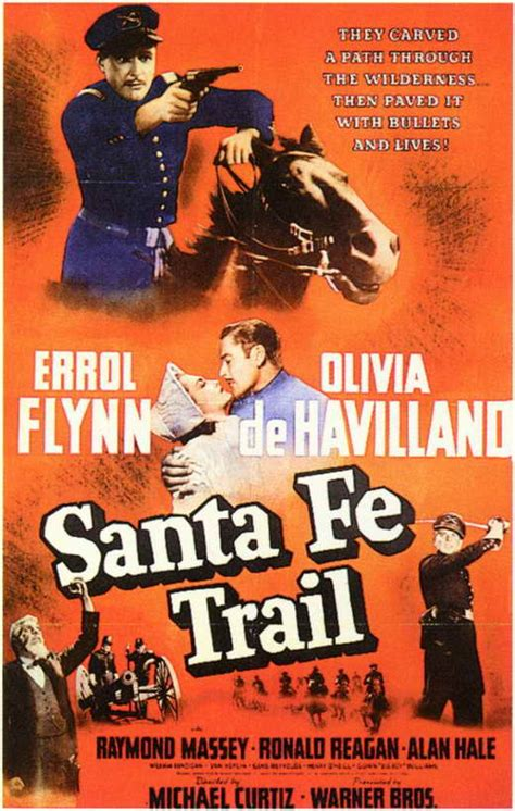 Santa Fe Trail Movie Posters From Movie Poster Shop