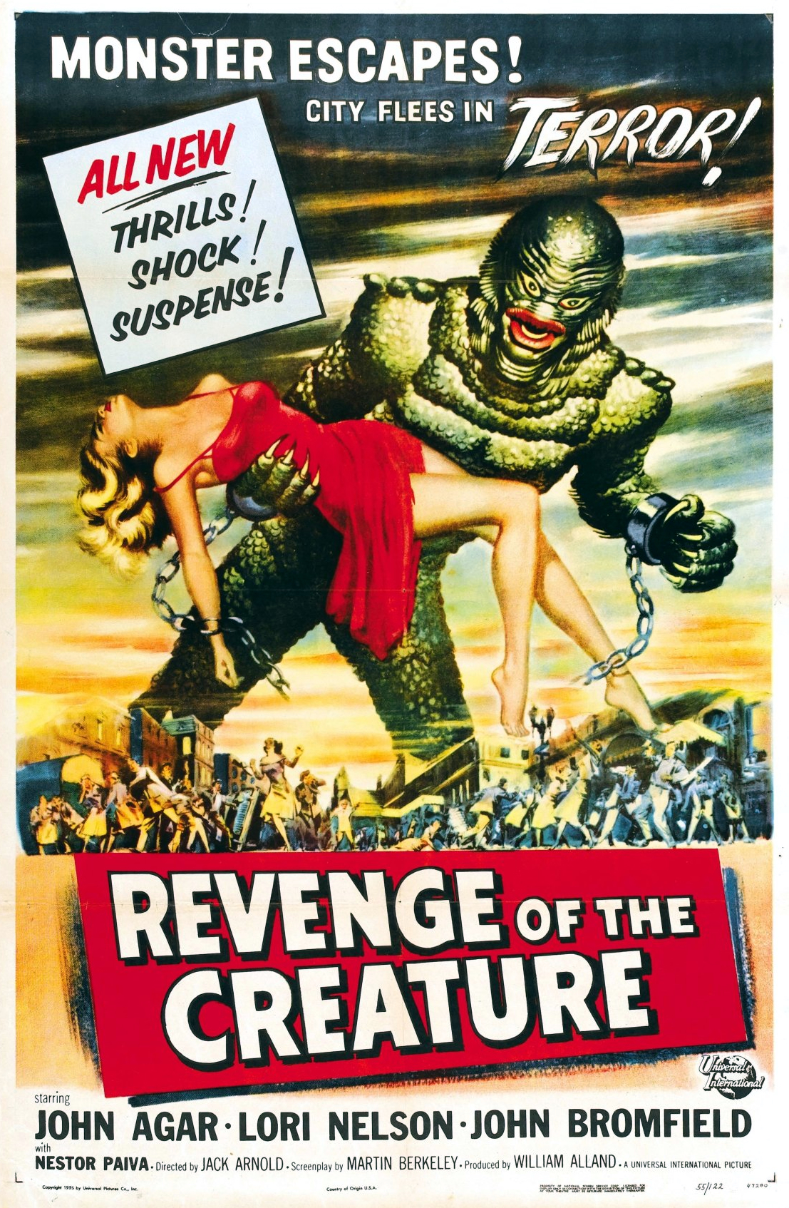 Revenge of the Creature [1955]