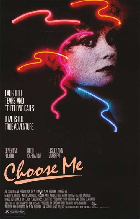Choose Me Movie Posters From Movie Poster Shop