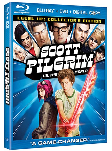 SCOTT PILGRIM VS. THE WORLD Hits DVD and Blu-Ray on ...
