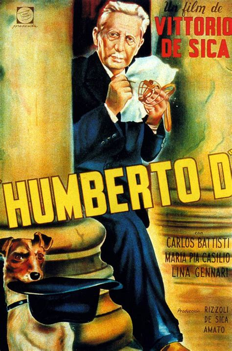 MOVIE POSTERS: UMBERTO D (1952)