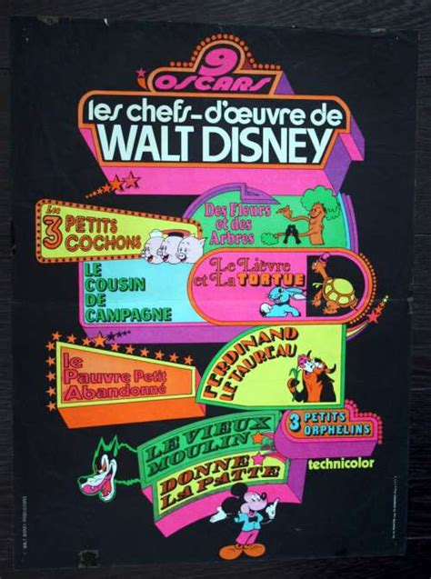 "23"" x 16"" movie poster from ACADEMY AWARD REVIEW OF WALT ..."