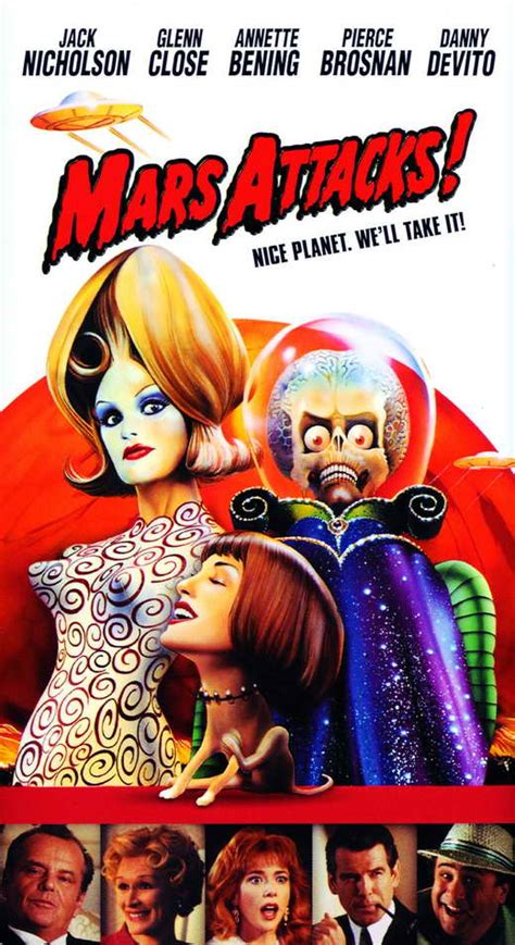 Mars Attacks! Movie Posters From Movie Poster Shop