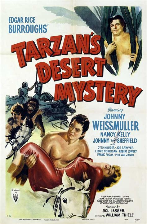 Tarzan's Desert Mystery Movie Posters From Movie Poster Shop