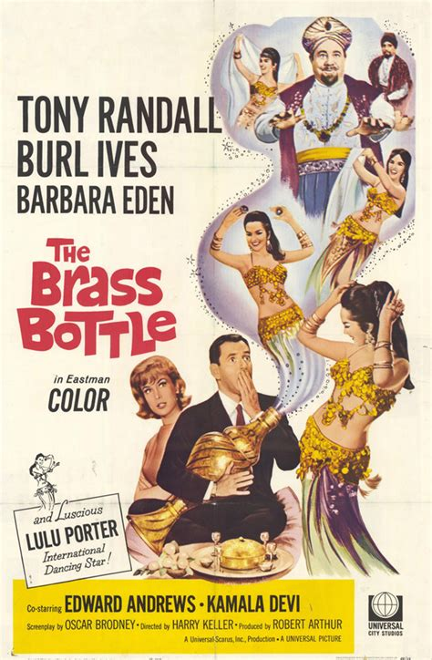 The Brass Bottle Movie Posters From Movie Poster Shop