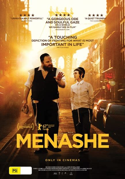 Menashe Showtimes in Christchurch Central | Alice Cinemas