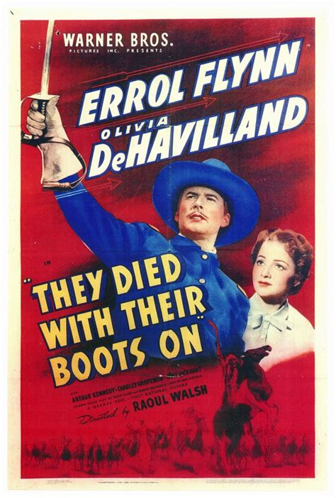 They Died with Their Boots On Movie Posters From Movie ...