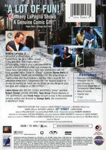 29th Street DVD 1991 Anthony LaPaglia $6.99 BUY NOW ...