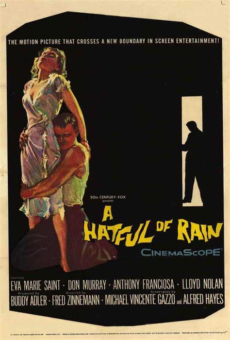 Hatful of Rain Movie Posters From Movie Poster Shop