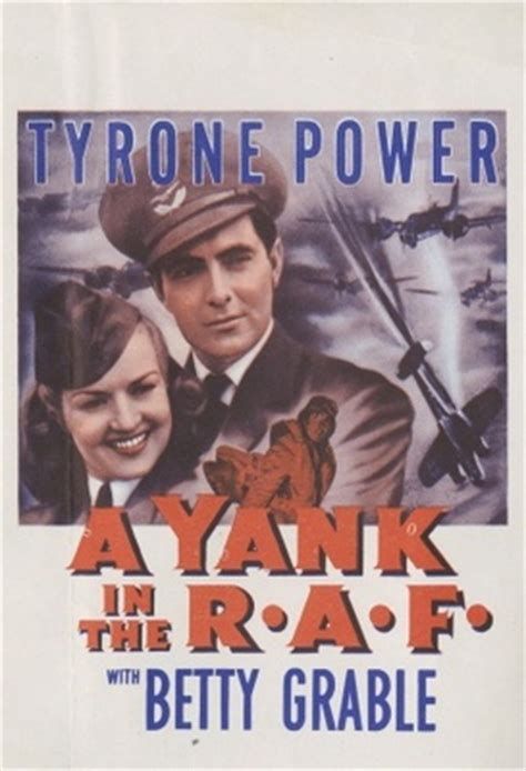 A Yank in the R.A.F. (1941) movie poster #1093015 ...