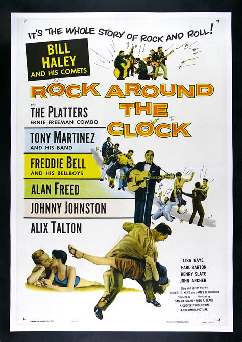 ROCK AROUND THE CLOCK * CineMasterpieces ROCK N ROLL MUSIC ...