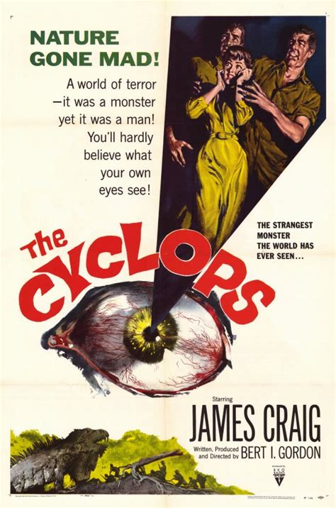 The Cyclops Movie Posters From Movie Poster Shop