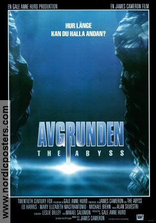 THE ABYSS Movie poster 1989 original NordicPosters