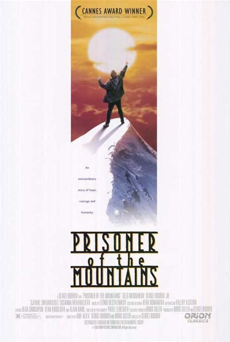 Prisoner of the Mountains Movie Posters From Movie Poster Shop