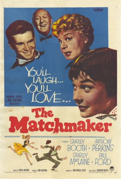 The Matchmaker Movie Posters From Movie Poster Shop