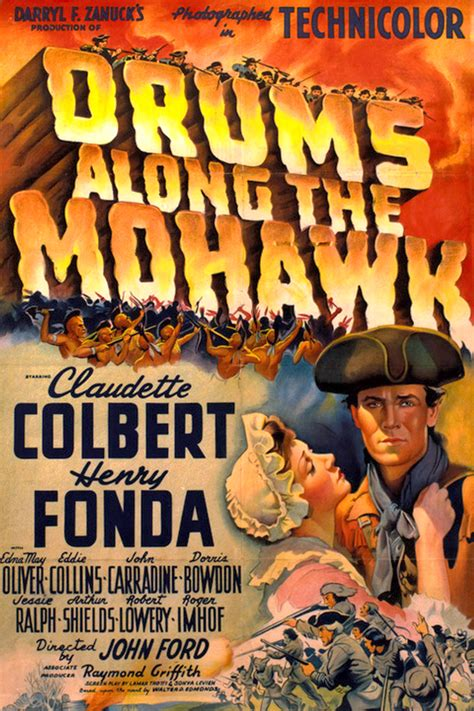 Image - 1939 - Drums Along the Mohawk Movie Poster.jpg at ...