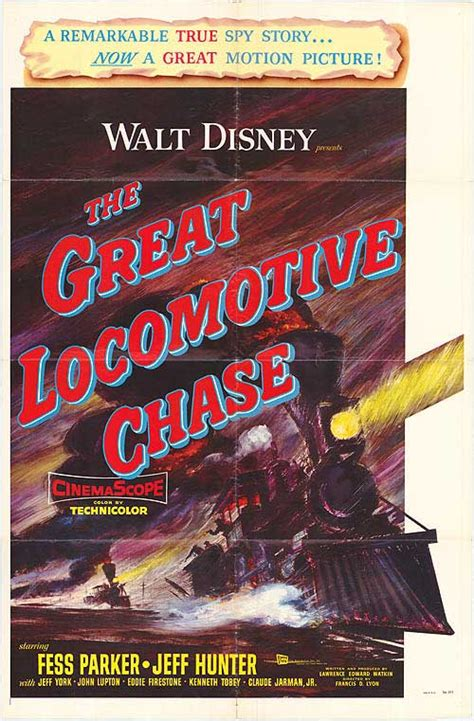 Great Locomotive Chase movie posters at movie poster ...