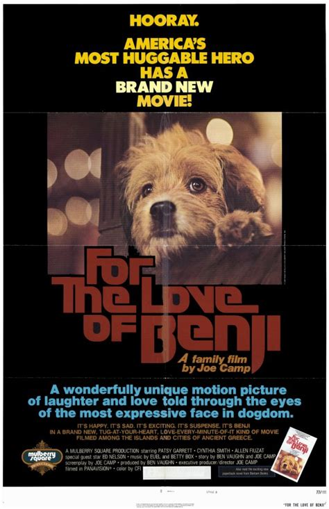 For the Love of Benji Movie Posters From Movie Poster Shop