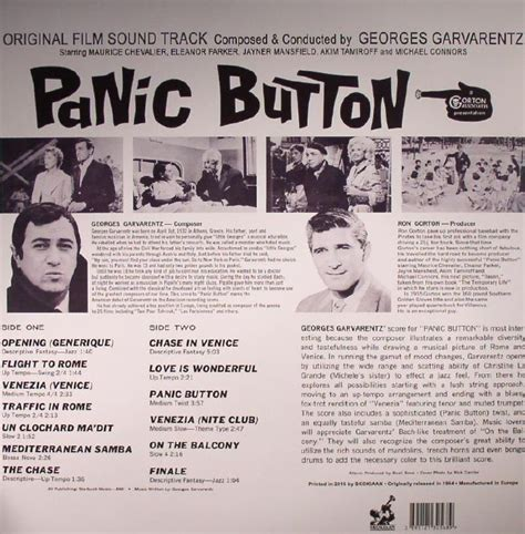 Film Music Site - Panic Button Soundtrack (Georges ...