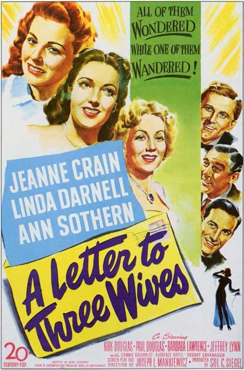 A Letter to Three Wives Movie Posters From Movie Poster Shop