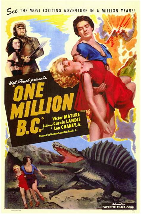 One Million B.C. Movie Posters From Movie Poster Shop
