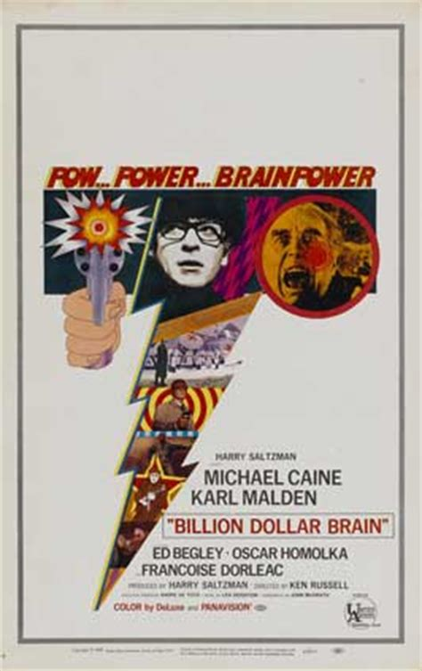 Billion Dollar Brain Movie Posters From Movie Poster Shop