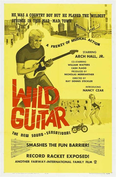 Wild Guitar Movie Posters From Movie Poster Shop
