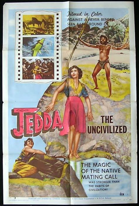 JEDDA THE UNCILVILIZED Movie Poster 1955 Charles Chauvel ...