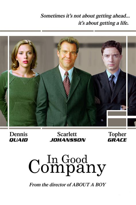 In Good Company DVD Release Date March 4, 2008
