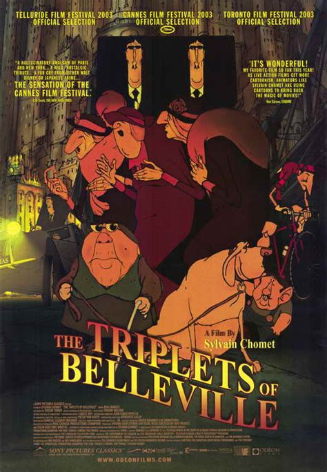 The Triplets of Belleville Movie Posters From Movie Poster ...