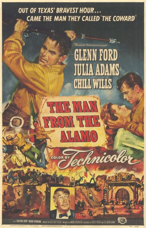 The Man from the Alamo Movie Posters From Movie Poster Shop