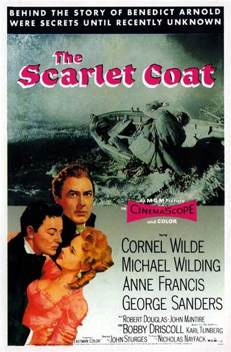 The Scarlet Coat Movie Posters From Movie Poster Shop