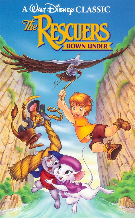 Image - The Rescuers Down Under Cover.jpg - DisneyWiki