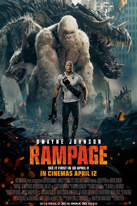 Rampage (2018) - Posters — The Movie Database (TMDb)
