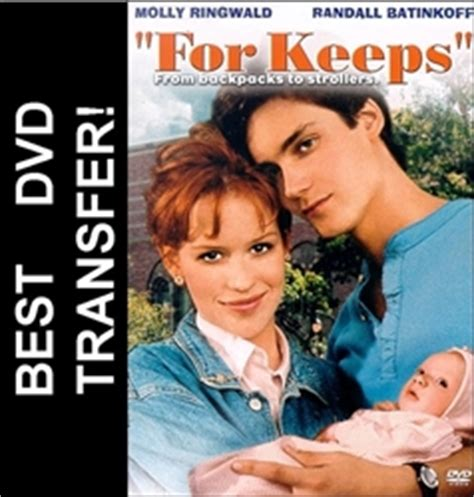 For Keeps DVD 1988 Molly Ringwald $7.99 BUY NOW - RareDVDs.biz