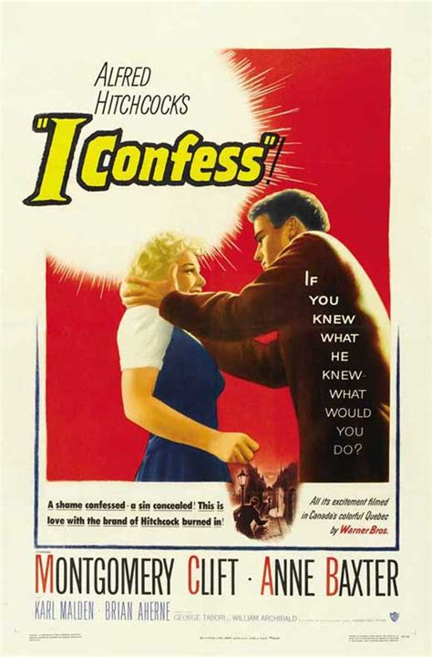 I Confess Movie Posters From Movie Poster Shop