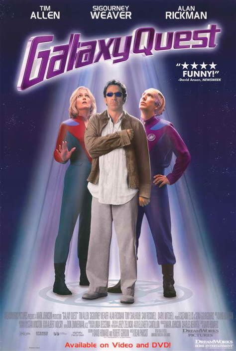 Galaxy Quest Movie Posters From Movie Poster Shop