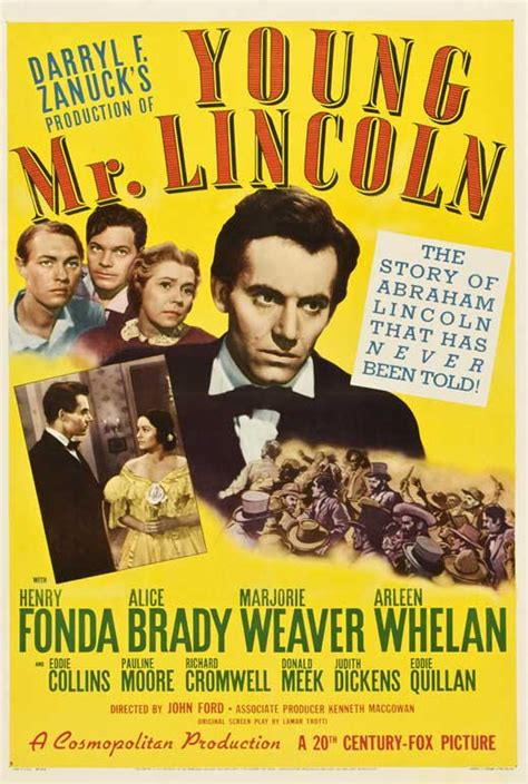 Young Mr. Lincoln Movie Posters From Movie Poster Shop