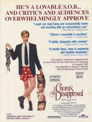 A Chorus of Disapproval (1989) movie posters