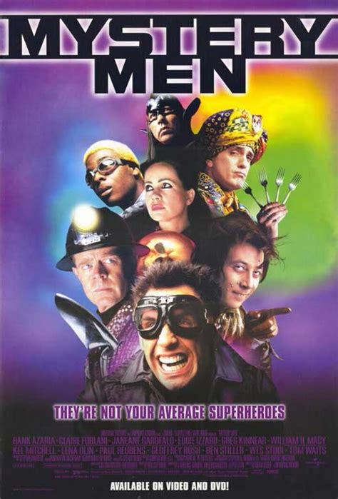 Mystery Men Movie Posters From Movie Poster Shop